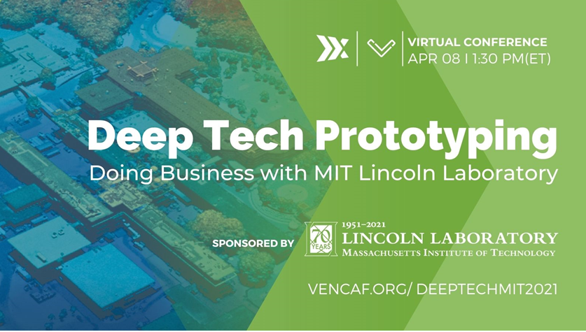 Deep Tech Prototyping Virtual Conference, April 8, 2021, 1:30-5:00 PM