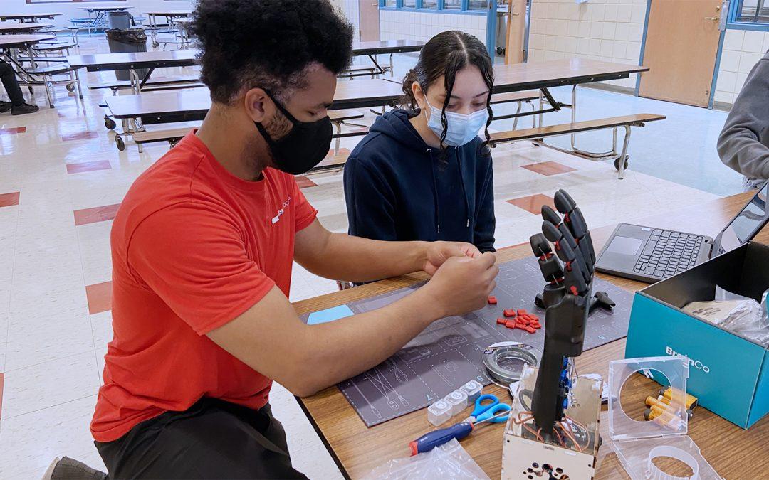 MITRE + Partners + Robots Equals an Equation for STEM Inspiration